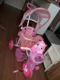 Triciclo Infantil com empurrador Bel Brink