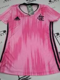 Camisa Flamengo Rosa