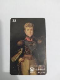 Cartão telefônico imperador D. Pedro II