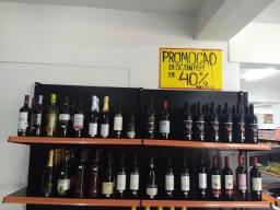 Queima de estoque de vinhos brasileiros e estrangeiros