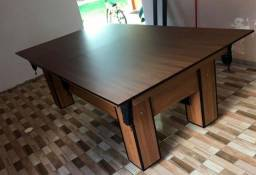 Mesa com Tampo para Jantar 2,20 x 1,20 | Bilhar e Sinuca | Modelo DE2078