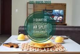 Aluguel Temporada Apartamento de 3 quartos mobiliado em Governador Valadares 3406
