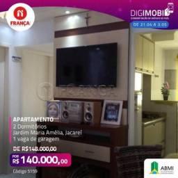 Apartamento para alugar com 2 dormitórios em Jardim maria amelia, Jacarei cod:L5159