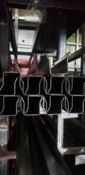 Trilho U com aba - Metal Rápido