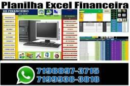 Sistema excel financeiro estoque