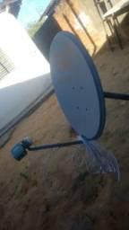 Antena Sky com Lnb universal