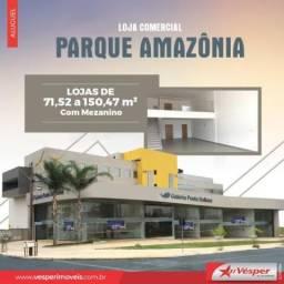 Loja comercial para alugar com 0 dormitórios em Parque amazônia, Goiânia cod:LJ167