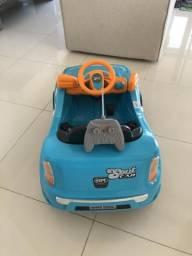 Carro eletrico infantil (funciona com ou sem controle)