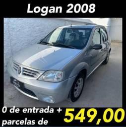 Logan 2008 sem entrada - 2008