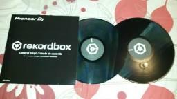 Time code vinil preto rekordbox usado umas 4 vezes por 230 reais avista
