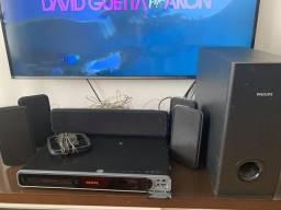 Home 600w RMS DivX MP4 USB 5.1 surround