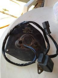 Bobina magnético do ar condicionado ventilador fica no radiador do Honda civic