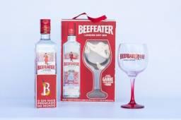 Gin Beefeater em Exclusivo Kit com Taça Vidro Original + Brinde