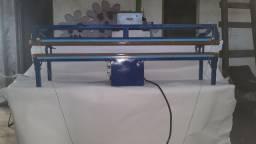 Máquina solda banner portátil com 1 metro de espaço para solda