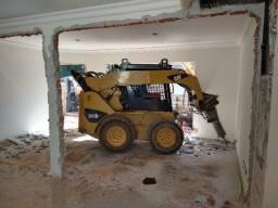 Demolição Bob Cat e Mini Escavadeira