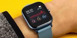 Relógio Inteligente P8 azul original smartwatch