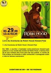 LIVRO AS AVENTURAS DE ROBIN HOOD| HOWARD PYLE