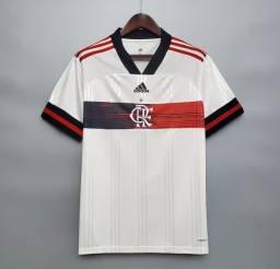 Camisa 2 Flamengo 20/21 Oficial Torcedor Adidas Branca