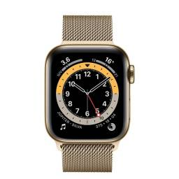 Apple Watch Serie 6 GPS + Cellular 44m aço Inoxidável