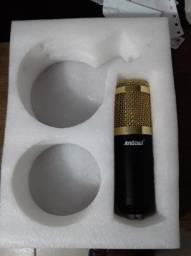 Microfone Condensador BM-800 Profissional