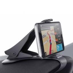 Suporte automotivo para celular, suporte para painel, gps