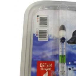 Termômetro analógico para aquário Delfin