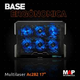 Base Notebook Multilaser Hexa com 6 Coolers NOVA