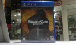 Título do anúncio: Jogo novo Kingdom Come Deliverance ps4. Retirada Portão