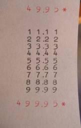 Calculadora ano 1954