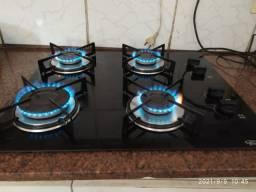 Fogão cooktop semi-novo ficher 90 dias de garantia