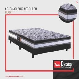 Título do anúncio: Promoção - ColchãoBox Black Casal 6cm Espuma - Só R$469,00