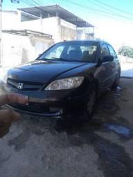 Honda Civic 2005 2006 1.7 lx completo 18 mil reais.