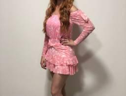 Vestido rosa MSC company