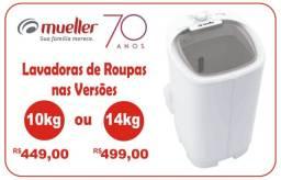 Lavadoras Mueller - 10kg ou 14kg (Mueller - 70 Anos de Experiência)