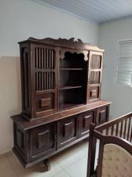 Armário de Cozinha antigo de Madeira Pura