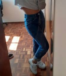 Calça Mom jeans tam 36