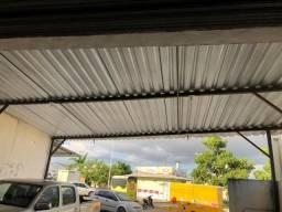 cobertura de telhas galvanizada aceito ofertas - valor negociavel