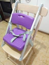 Cadeira portátil refeição lilás Litaf