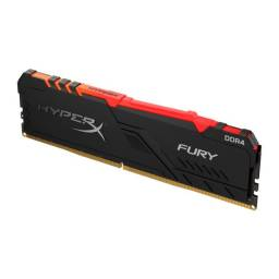 Memoria Ram HyperX 8gb RGB ddr4 2666Mhz Nova Lacrada Com garantia