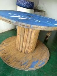 Carretel/bobina de madeira