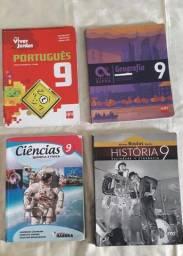 Livros escolar do 9° ano