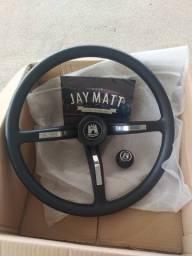 Volante Jay Matt + manopla de câmbio. Filtro de ar banhado a óleo