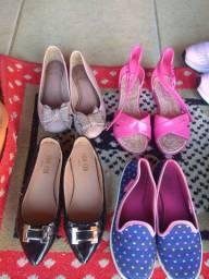 Sapatilhas e sandália infantil