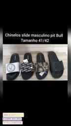 Chinelos slide masculino da pit Bull