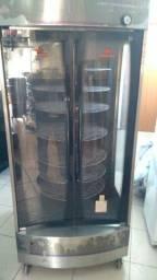 Título do anúncio: Máquina assadeira de frango giratória Progas 128kg multiuso
