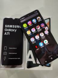 Galaxy A71 Muito novo acessórios nunca usado