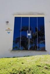 Porta janelas de vidro