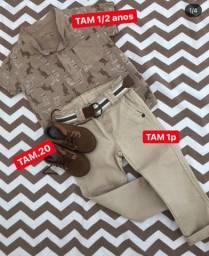 Conjunto de calça e camiseta infantil