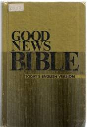 "olx252 Good News Bible Today""s English Version capa dura"