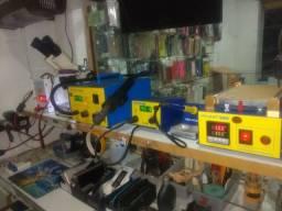 Máquinas de retrabalho para celulares e aparelhos eletronicos